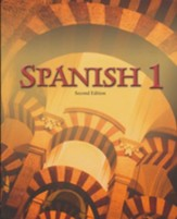 BJU Spanish 1 Student Text (Second Edition, Updated Copyright)