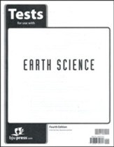 BJU Earth Science Grade 8 Test Pack (Fourth Edition)