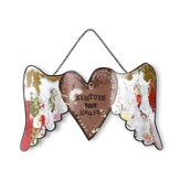 Nurture Your Heart, Wing Sculpture Ornament