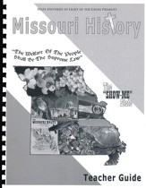 Missouri History In Light Of The Cross, Teacher Guide/Answer Key