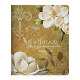 With God, All Things Are Possible iPad Cover