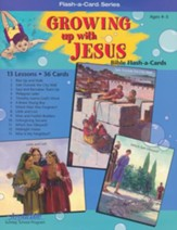 Extra Growing Up with Jesus Beginner (Ages 4 & 5) Bible Story Lesson Guide