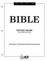 ACSI Bible, Grade 2, Teacher's Edition