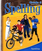 ACSI Spelling Grade 6 Teacher's Edition, Revised