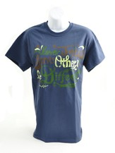 Love Jesus, Serve Others, Be Different Shirt, Navy, XX Large