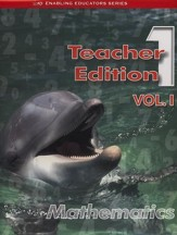 ACSI Math Teacher's Edition, Grade 1