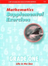 ACSI Math, Supplemental Exercise Book Grade 1 (Blackline Masters)