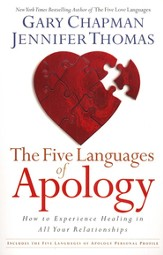 The Five Languages of Apology: How to Experience Healing in all Your Relationships - Slightly Imperfect