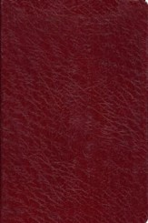 Old Scofield Study Bible Classic Edition, KJV, Genuine Leather burgundy