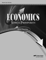 Economics: Work & Prosperity Quiz/Test Key