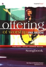 Offering of Worship, Songbook  - Slightly Imperfect
