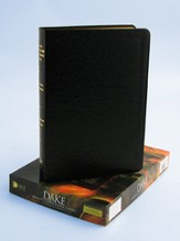 KJV Dake Annotated Reference Bible, Genuine leather, Black