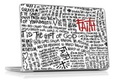 Faith Scribble Laptop Skin