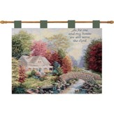 As For Me and My House, Autumn Tranquility Wallhanging