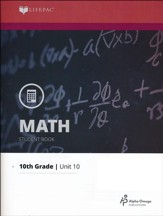Lifepac Math Grade 10 Unit 10: Geometry Review