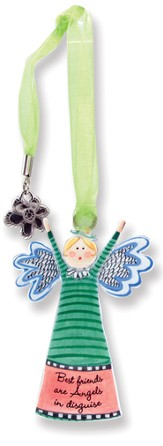 Best Friends, Keepsake Angel with Charm