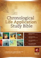 Chronological Life Application Study Bible NLT - eBook