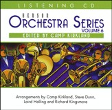 Benson Orchestra Series Volume 6 listening CD