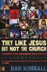 They Like Jesus But Not Church Curriculum Kit DVD, Book, and Participant's Guide