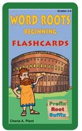 Word Roots Beginning Flashcards