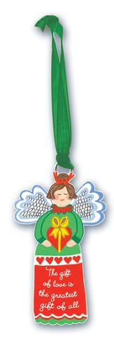 The Gift Of Love, Angel Ornament
