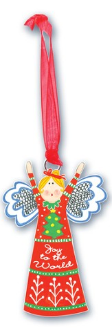 Joy To the World, Angel Ornament