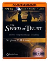 Speed of Trust: The One Thing That Changes Everything - unabridged audio book on MP3-CD