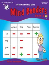 Mind Benders Book 3, Grades 3-6