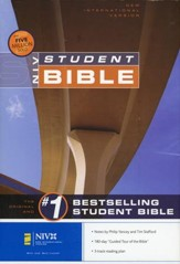 NIV Student Bible Revised Edition Hardcover--Damaged
