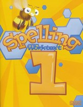 BJU Spelling Worktext 1, Second Edition (Updated Copyright)