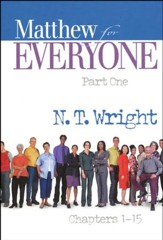 Matthew for Everyone: Part 1, Chapters 1-15 (original cover)