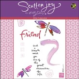2014 Scatter Joy by Kathy Davis Mini Wall Calendar