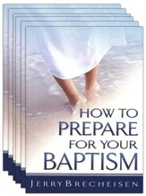 How to Prepare for Your Baptism - Pack of 5