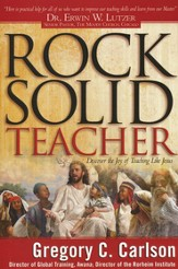 Rock Solid Teacher: Discover the Joy of Teaching Like Jesus - eBook