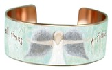 A Friend Loves At All Times, Copper Cuff Bracelet
