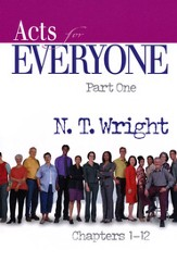 Acts for Everyone: Parts 1&2 (New Testament for Everyone)