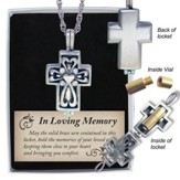 Memorial Cross Locket