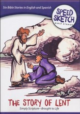 Speed Sketch Bible Stories: The Story of Lent  - Slightly Imperfect