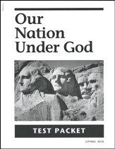 Our Nation Under God Test Packet, Grade 2