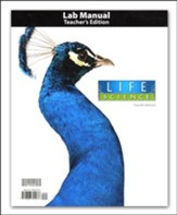 BJU Life Science Student Lab Manual Teacher's Guide 4th Edition