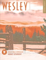 Wesley Adult Bible Student, Large Print, Winter 2015-16