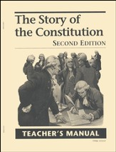 Story of Constitution Teacher's Manual, Grades 8-12