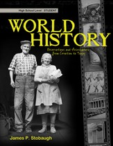 World History-Student: Observations and Assessments from Creation to Today - eBook
