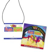Jeff Slaughter VBS Fun Run 2015: Name Badge Pass & Lanyard with CD, Pack of 10