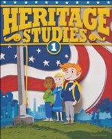 BJU Heritage Studies Grade 1 Student Text, Third Edition