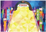 Jeff Slaughter VBS Fun Run 2015: Large Wall Decoration Poster (three panels, 3' x 6' each)