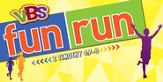 Jeff Slaughter VBS Fun Run 2015: Hanging Display (Banner 6'x3')