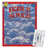 Audio Memory Bible Songs Cassette Tape and Workbook Kit