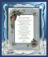 Lords Prayer Musical Framed Sentiment