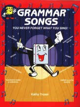 Audio Memory Grammar Songs Cassette Tape and Workbook Kit